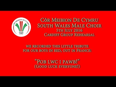 "Côr Meibion De Cymru / South Wales Male Choir - ""Men of Harlech"" #TogetherStronger"
