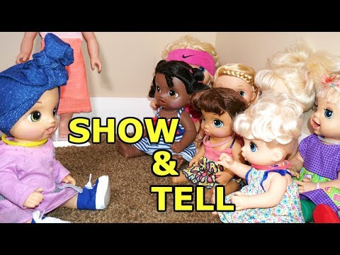 BABY ALIVE School Show N Tell Oakley Tells Class Why She Shaved Her Head.