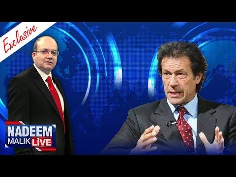 Nadeem Malik Live With Imran Khan - SAMAA TV - 29 July 2017