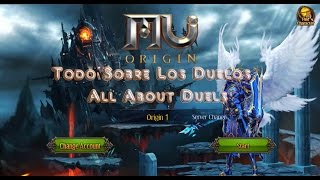 Скачать Mu Origin Todo Sobre Los Duelos All About Duels