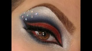 Fourth of July Makeup Look