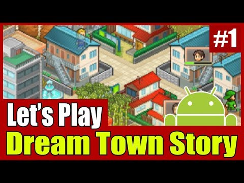 [Gameplay] Kairosoft Dream Town Story #1 (First 30 Minutes)
