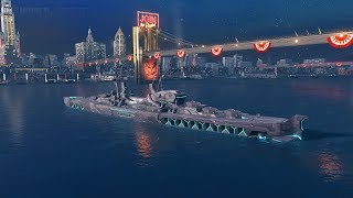 World Of Warships - MINONAUR - ТЕСТ МОДКИ И ФАРМ СВОБОДКИ!