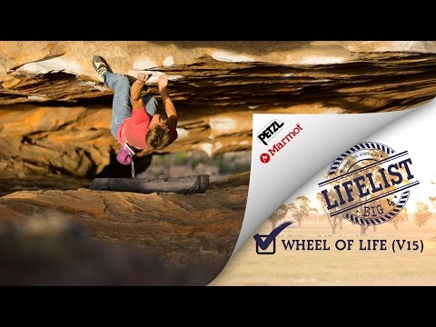 BIG 4 - Wheel of life, ~8C, Grampians Australia