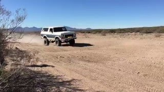 Fast Long Travel Bronco at Sycamore Creek