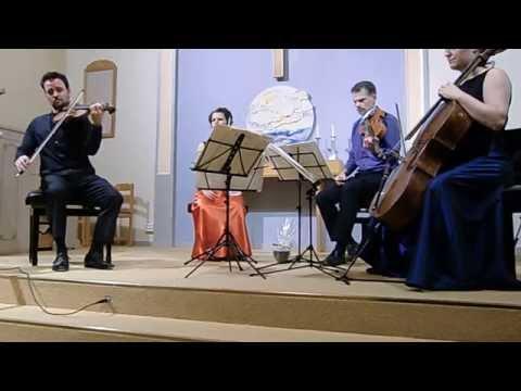 Elias String Quartet in Sweden 2013