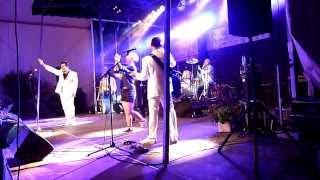 Stéphane et Audrey Roy (Mambo Rock) au concert des Forbans