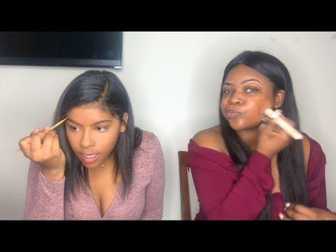 5 minute make up challenge ft. Anais Hernandez 😂