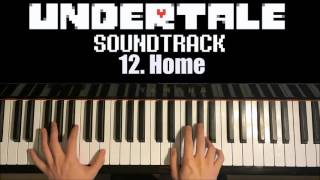 Undertale OST - 12. Home (Piano Cover by Amosdoll)