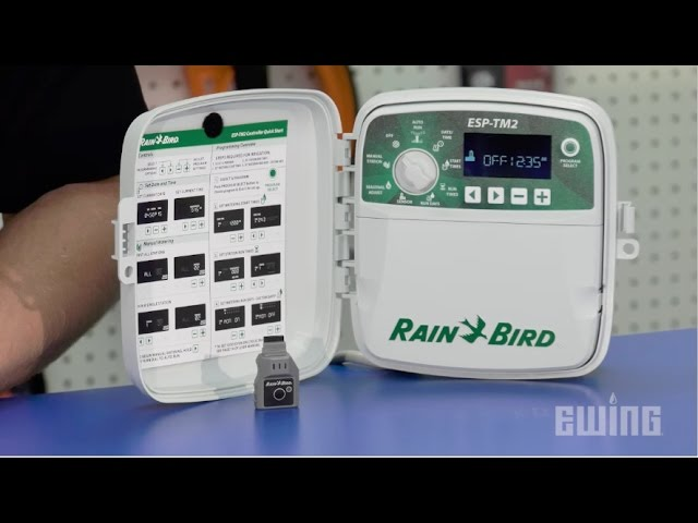 The Rain Bird TM Controller & WIFI