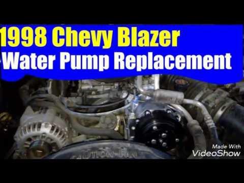 1998 Chevy Blazer Water Pump Replacement