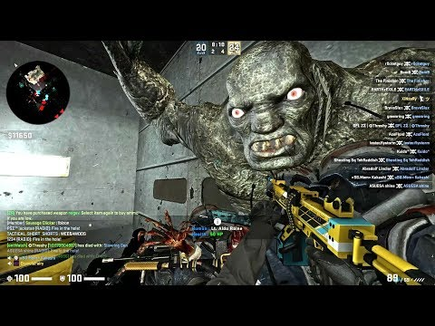 CS GO - Zombie Escape Mod - Ze_blackmesa_remix_p2