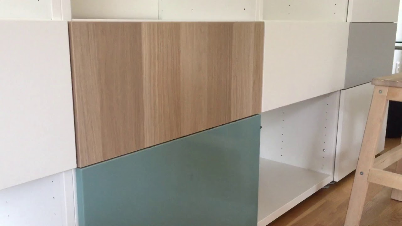 Ikea Tv Meubel Kast.Adjusting Ikea Besta Drawer Front Aanpassen Ladefront Ikea Besta