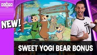 🐻 Sweet Yogi Bear BONUS 💰 Brand New Game @ Las Vegas ✪ BCSlots (S. 19 • Ep. 3)