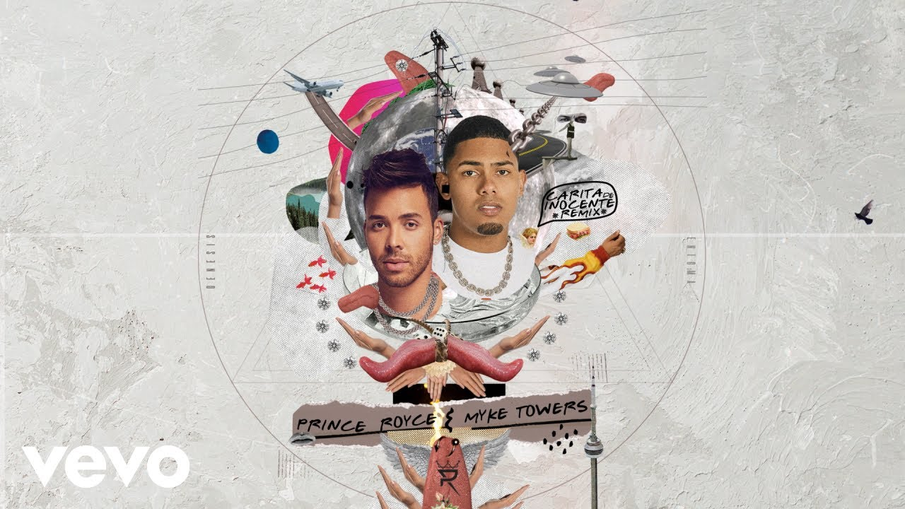 Prince Royce - Carita de Inocente (Remix - Audio) ft. Myke Towers