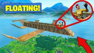 How To Build A *FLOATING BASE* In Fortnite Battle Royale! thumbnail