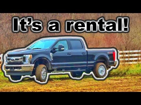 Ford SUPER DUTY Donuts!