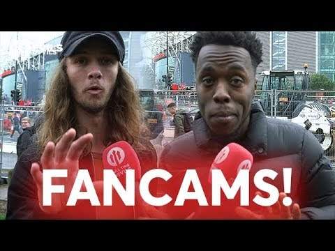 Fell-egend? FANCAMS Manchester United 4-0 Crystal Palace