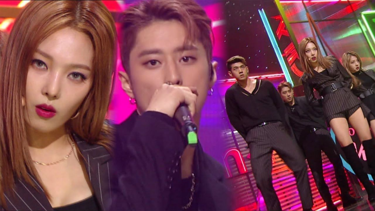 《Comeback Special》 KARD - You In Me @Inkigayo 20171126