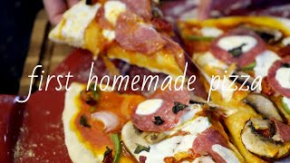 First Homemade Pizza  / 처음으로 피…