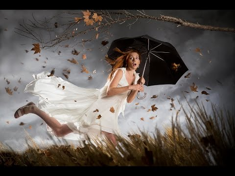 How to Create a Fantasy Photoshoot with Simple Elements - Photography Tutorial