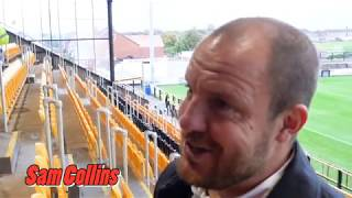 Sam Collins post-match interview (City V Southport)
