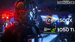 STAR WARS Battlefront II on Ryzen 1500X & Nvidia GTX1050 Ti