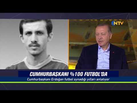 % 100 Futbol - Konuk: Recep Tayyip Erdoğan 12 Kasım 2017