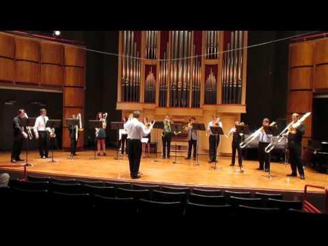 Fall Trombone Night 2015 Star Wars Imperial March USC School of Music