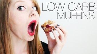 Himbeer LOW CARB Muffins - ein Versuch | REZEPT | SeptemBÄM #10