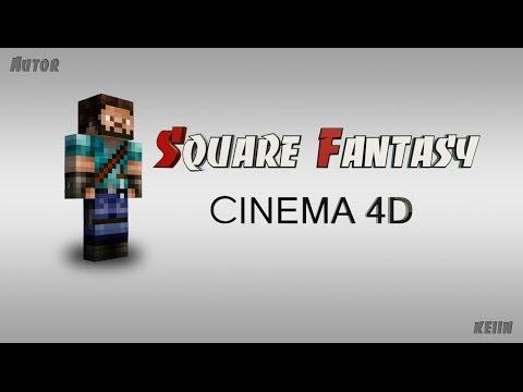 Cinema 4d - Создание персонажа из игры Minecraft