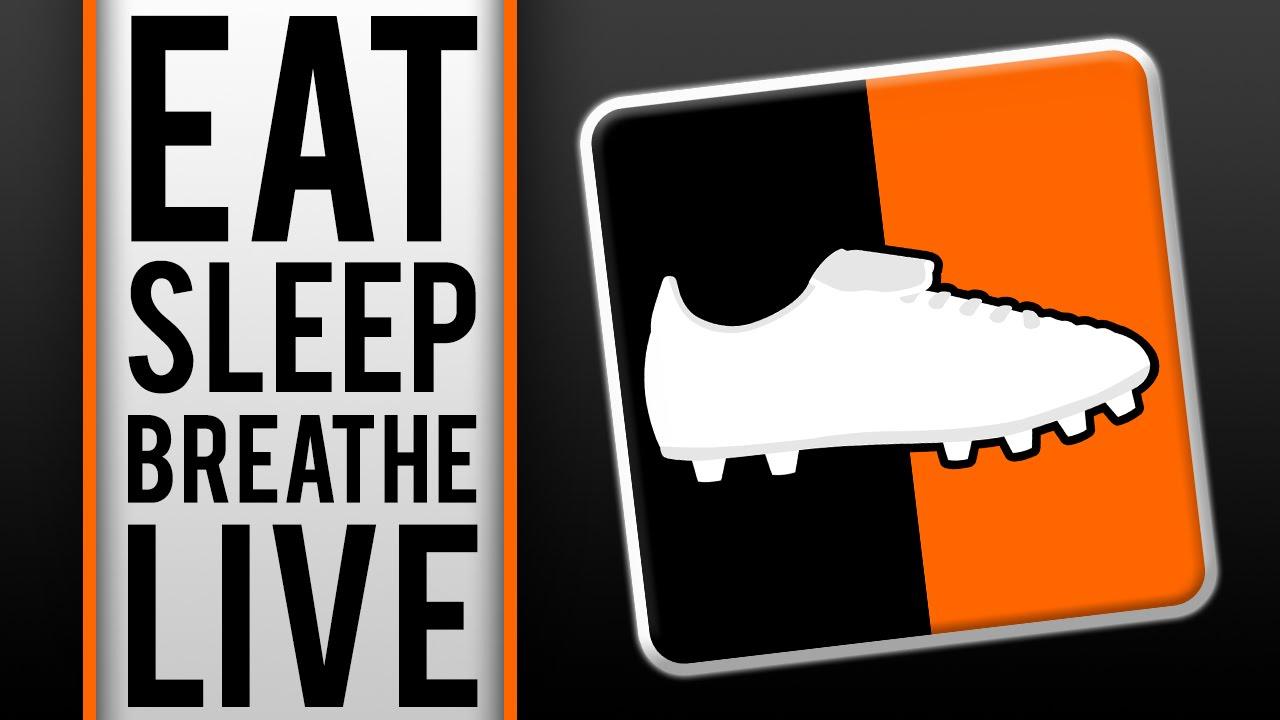 eat sleep breathe live football boots channel trailer. Black Bedroom Furniture Sets. Home Design Ideas
