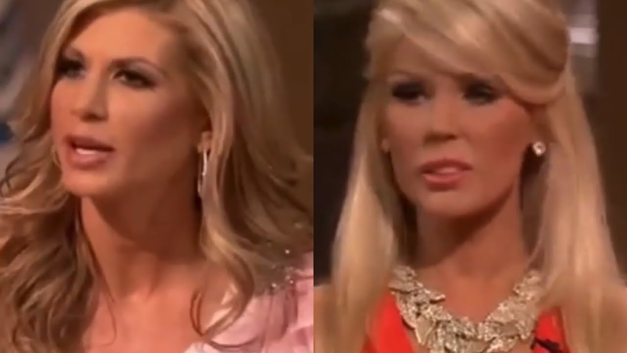 Download RHOC Gretchen and Alexis vs Tamra and Gretchen
