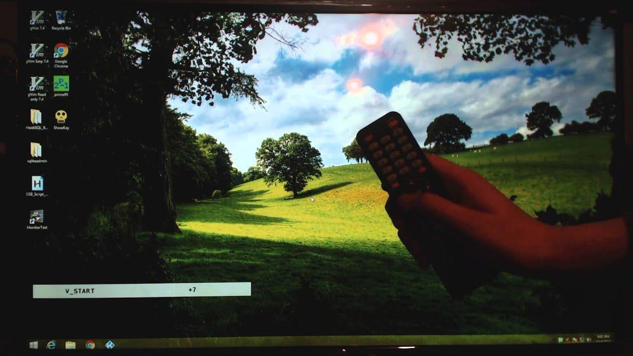 Fix Sceptre 4k TV Overscan! by Jeffrey Clark