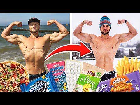 Jak Trzymam Formę Cały Rok BEZ DIETY - Jedząc SŁODYCZE CHIPSY PIZZE