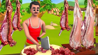 Greedy Mutton Seller | লোভী মাটন বণিক বাংলা গল্প | Bengali Funny & Comedy Videos | Greedy Stories