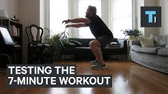 I Tried The 7-Minute Workout For A Month — Here's What Happened