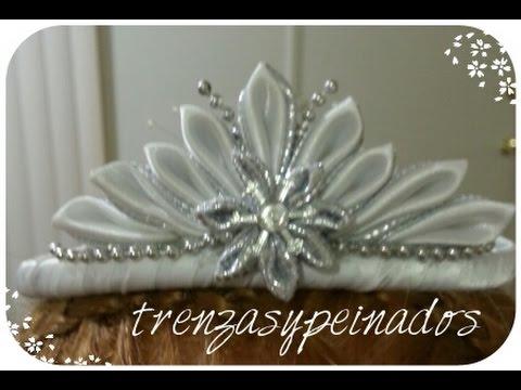 Como hacer una diadema de corona para primera comunion - Como hacer diademas ...