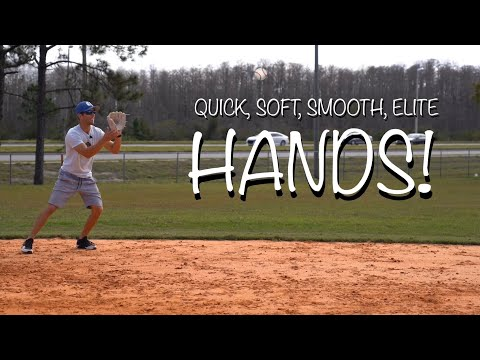 How To Get QUICK & SOFT HANDS in the Infield! [Field Ground Balls SMOOTH & EFFORTLESS Like The Pros]