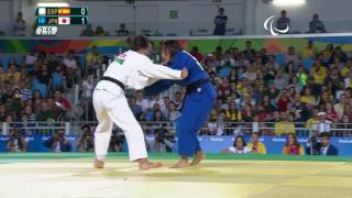 Judo | Spain v Japan | Women's -57kg Bronze Medal Contest A | Rio 2016 Paralympic Games