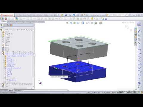 Advanced SolidWorks 2013 Tutorial | Break, Lock, and Remove External Relations