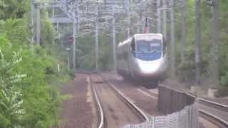 Fast Acela Express Trains in Sharon
