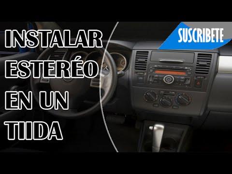 Como Instalar Auto Est 201 Reo A Un Nissan Tiida Youtube