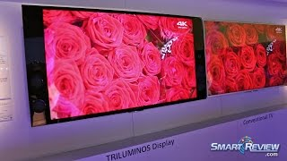 CES 2015 | Sony 4K Ultra HD TVs Lineup | New UHD TV Series | XBR X900C, X940C, X850C, X830C |