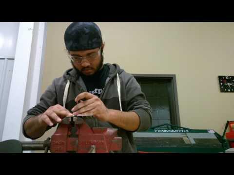 Metal Structures Lab - Practice Riveting [LeTourneau University Aviation]