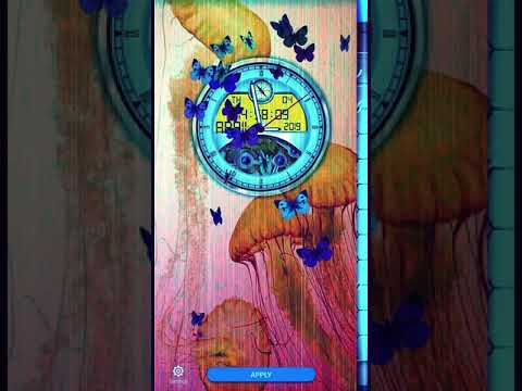 Analog Clock Live Wallpaper New Themes(for any Android) Link Mention in  discription