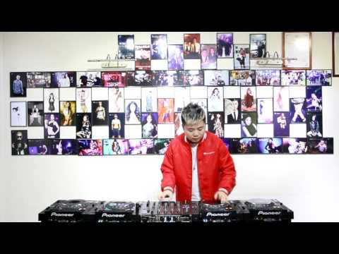 DJBenny z  ︳ Merry Christmas  Routine !(2014-2015 Pioneer DJ China Champion)