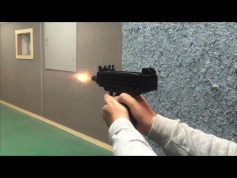 Shooting the UZI 22 Pistol