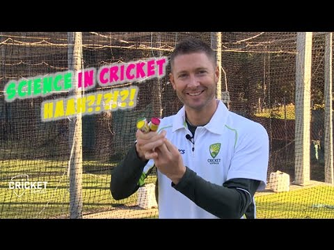 Michael Clarke, Nathan Lyon and James Pattinson explain why there's lots of science in cricket!