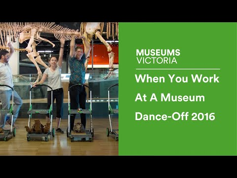 When You Work At A Museum Dance-Off 2016 | Museum Victoria